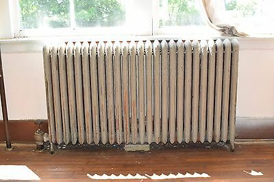 "Antique Vintage American Radiator Rococo Hot Water or Steam Radiator 62"" 25-Fins"