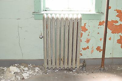 "Antique Vintage American Radiator Rococo Hot Water or Steam Radiator 22"" 9-Fins"