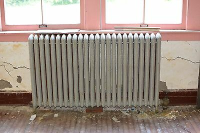 "Antique Vintage American Radiator Rococo Hot Water or Steam Radiator 59"" 24-Fins"
