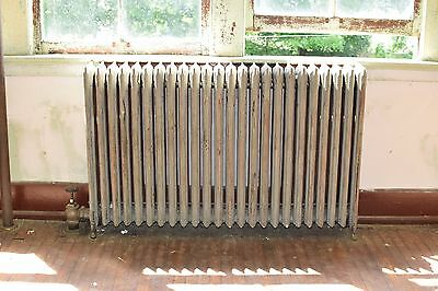 "Antique Vintage American Radiator Rococo Hot Water or Steam Radiator 62"" 24-Fins"
