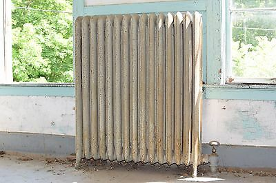 "Antique Vintage American Radiator Rococo Hot Water or Steam Radiator 37"" 15-Fins"