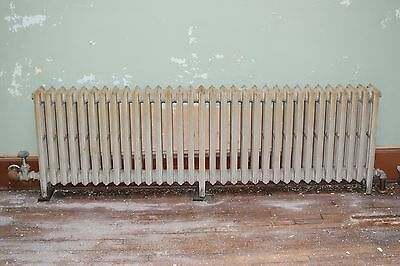"Antique Vintage American Radiator Rococo Hot Water or Steam Radiator 81"" 32-Fins"