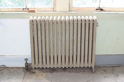 "Antique Vintage American Radiator Rococo Hot Water or Steam Radiator 42"" 17-Fins"