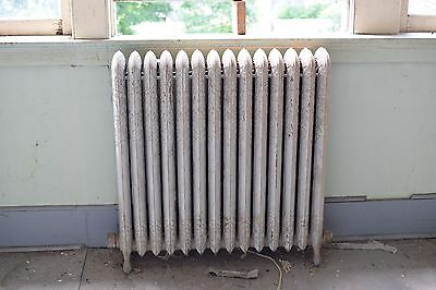"Antique Vintage American Radiator Rococo Hot Water or Steam Radiator 34"" 14-Fins"