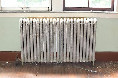"Antique Vintage American Radiator Rococo Hot Water or Steam Radiator 57"" 23-Fins"