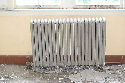 """Antique Vintage American Radiator Rococo Hot Water or Steam Radiator 52"""" 21-Fins"""