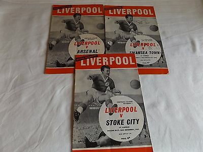 Liverpool 1963/1964 Home Programmes