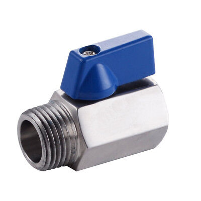 "HFS 1/4"" And 3/8"" Npt Valve - Stainless Steel - Male X Female"