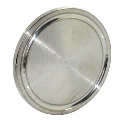 HFS(R) 4 Inch Ss304 Sanitary End Cap Fits Tri-Clamp Ferrule Flange 102Mm