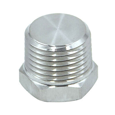 """HFS(R) 1/4"""" Npt Male End Plug Hex Head Fitting - Stainless 304"""