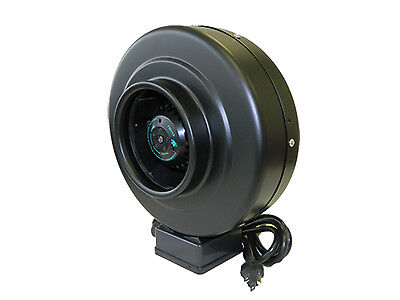 "4"" 6"" 8"" inch Hydroponic Inline Duct Fan Exhaust Blower Vent"