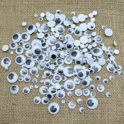 100+ Mixed Wibbly Wobbly Googly Eyes. Crafts, Stick On, Stickers Self Adhesi