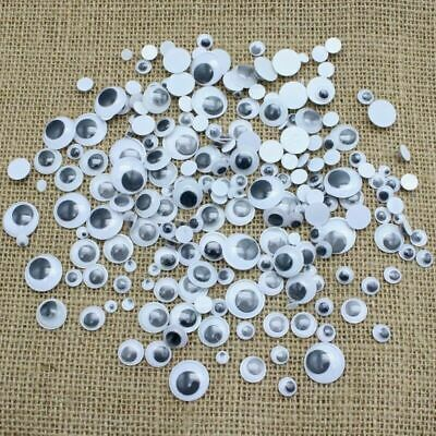 120+ Mixed Wibbly Wobbly Googly Eyes. Crafts, Stick On Stickers,  Self Adhesive