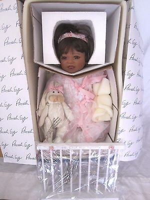 New Masterpiece Pamela Erff Tori African Biracial Baby Doll Limited Ed 164/1000