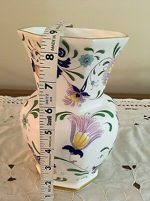 Coalport Cobalt/White Bone China Large Vase