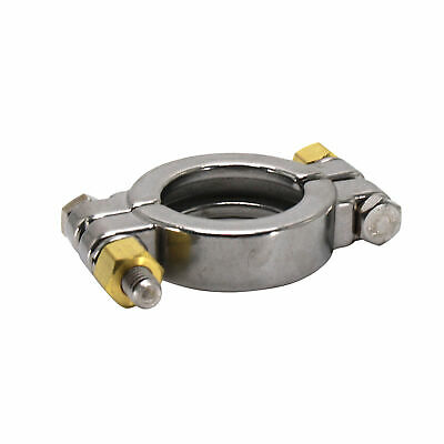 "HFS 1.5"" Sanitary Clamp - High Pressure - Tri Clamp Clover Stainless Steel"
