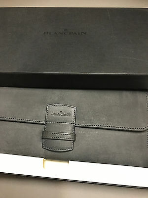 Blancpain Leather Long Wallet Breguet Cartier Chopard Patek Philippe
