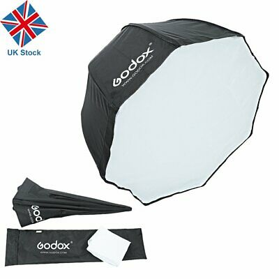 UK 80cm Godox Octagon Umbrella Reflector Softbox f Studio Speedlight universal