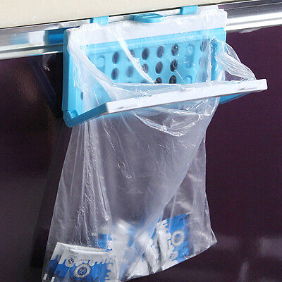 Foldable Rubbish Bag Storage Holder Garbage Bag Trash Plastic Storage Rack Tool