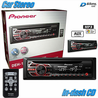 NEW Pioneer In-Dash CD/MP3/WMA Car Stereo Radio Receiver w/AUX