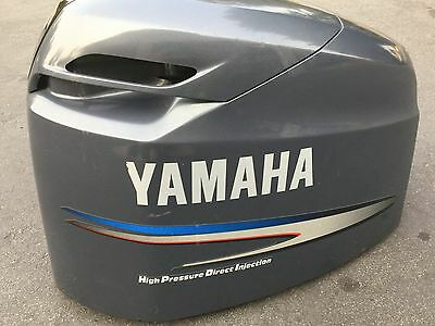 2002 Yamaha 150Hp Top Cowling Cover 68H-42610-50-4D HPDI