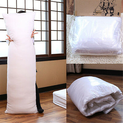White 150 x 50 CM Anime Dakimakura Hugging Pillow Inner Body Cushion