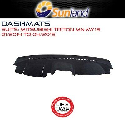 Dashmat For Mitsubishi Triton - Mn My15 01/2014-04/2015 Dash Mat