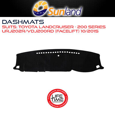 DASHMAT FOR TOYOTA LANDCRUISER - 200 SERIES URJ202R/VDJ200RD (Facelift) 10/2015-