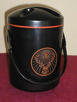 Rare SEAU A GLACE JAGERMEISTER / COLLECTABLE ice bucket !!