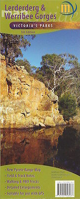 Meridian Lerderderg & Werribee Gorges Map *FREE SHIPPING - NEW*