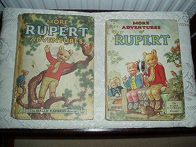 Rupert annual/books 1952 and 1953