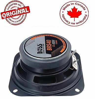 Boss BRS40 4-Inch Dual Cone Replacement Speaker Individually Packaged In Clam...
