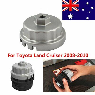 Oil Filter Wrench Cap Socket Housing Tool Removal For Toyota Land Cruiser 08-10