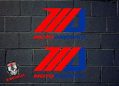 Pegatina Sticker  Adesivi Aufkleber Autocollant  Decal Motoamerica Racing