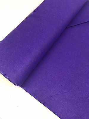 PURPLE FELT BAIZE FABRIC For Poker/Card Tables  60 inches Wide!