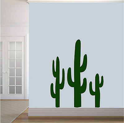 Vinyl Wall Decal Sticker Home Bedroom Art Decor Removable Cactus Lime Green New