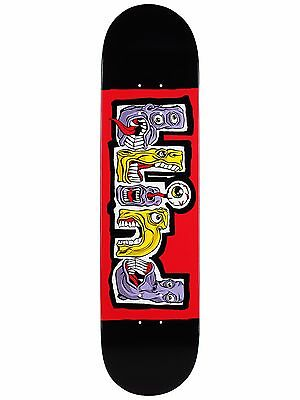 "Blind Skateboard Deck Hungry Black Red 7.75"" FREE GRIP"