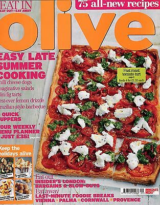 Olive Magazine: Sept 2012: 75 All-New Recipes: Easy Late Summer Cooking