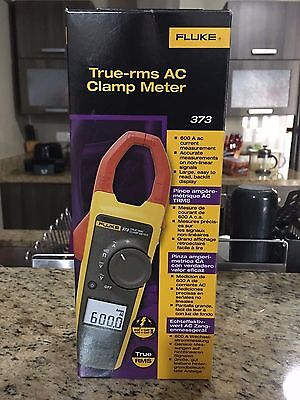 NEW Fluke 373 True-RMS Current Clamp Meter, 600A AC, 600V AC/DC