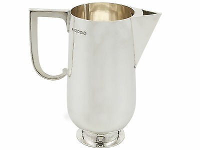 Antique Sterling Silver Water Jug by Charles Boyton George V London 1935
