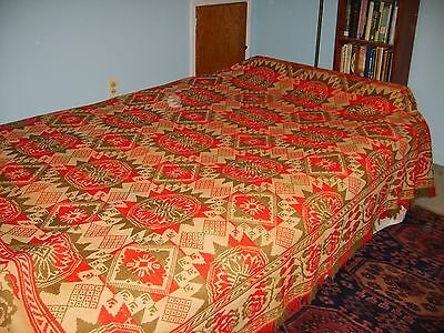 1848 Jacquard Coverlet Fehr & Keck