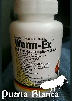 Worm-Ex 100 Tablets