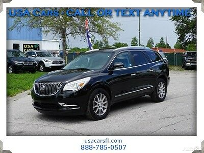 2017 Buick Enclave Leather 2017 Buick Enclave Leather AWD 3.6L V6 Leather w /heat  Rear Camera Bluetooth
