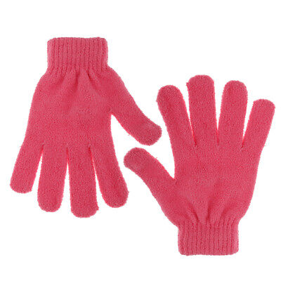 Red Cotton Hair Dry Gloves Magic Bathing Shower Hair Quick Drying Towel Tool
