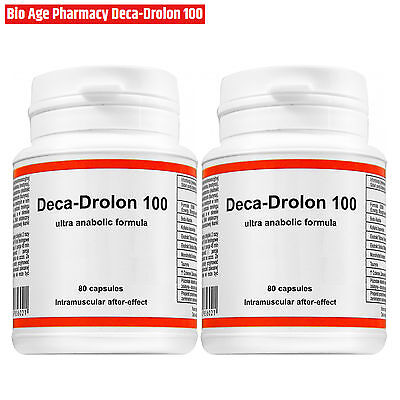 DECA-DROLLON 80-320 Caps. Testosterone Booster Lean Muscle Mass Builder Anabolic
