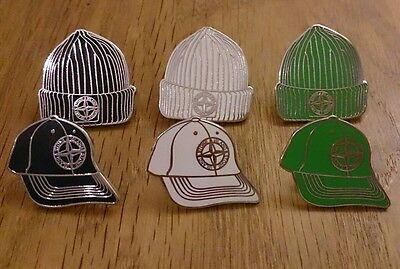 6 x # UK #  bundle stone 80s Casuals badge SI  novelty   NEW 6 pin badges minty