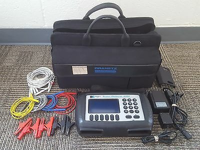 DRANETZ POWER PLATFORM 4300 WITH CASE AND 8 VOLTAGE CLAMPS + Cards - Ready!