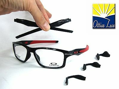 Oakley Crosslink MNP 8090 03 Black Rosso 55 TruBridge GLASSES OCCHIALI VISTA 65b6e52891