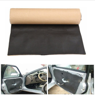 200cmx50cm Car Sound Proofing Deadening Anti-noise Insulation Heat Closed Cell F