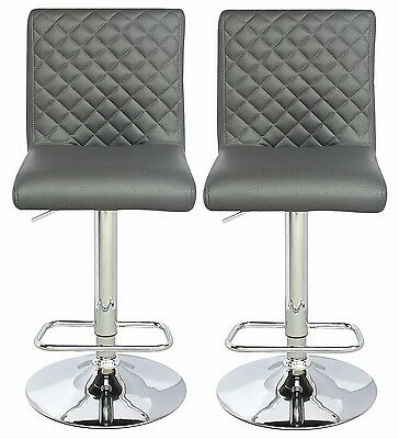 NEW ViscoLogic Series Height Adjustable Swivel 24 to 33 inch BarStool (Set of 2)